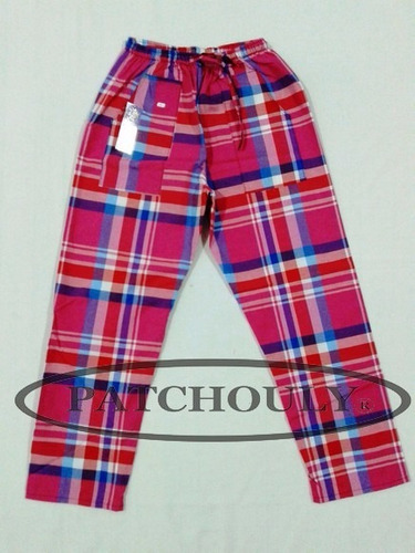 pantalones cuadrille unisex adulto de verano talles 5 y 6