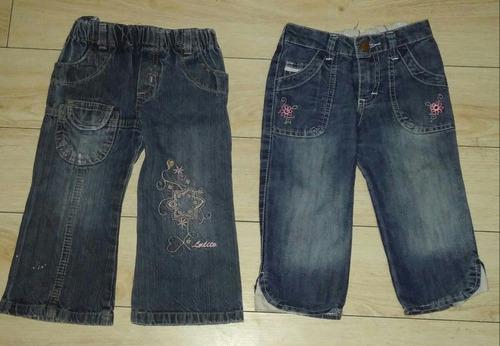 pantalones d jeans para beba nena