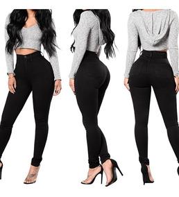 Pantalon Negro De Dama Alto Pantalones Negro En Mercado Libre Venezuela