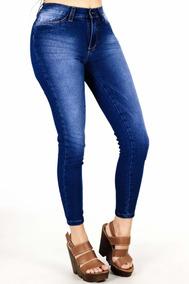 nuevo concepto ed30a 38313 Pantalon Jean Verde Militar - Pantalones de Mujer Azul en ...