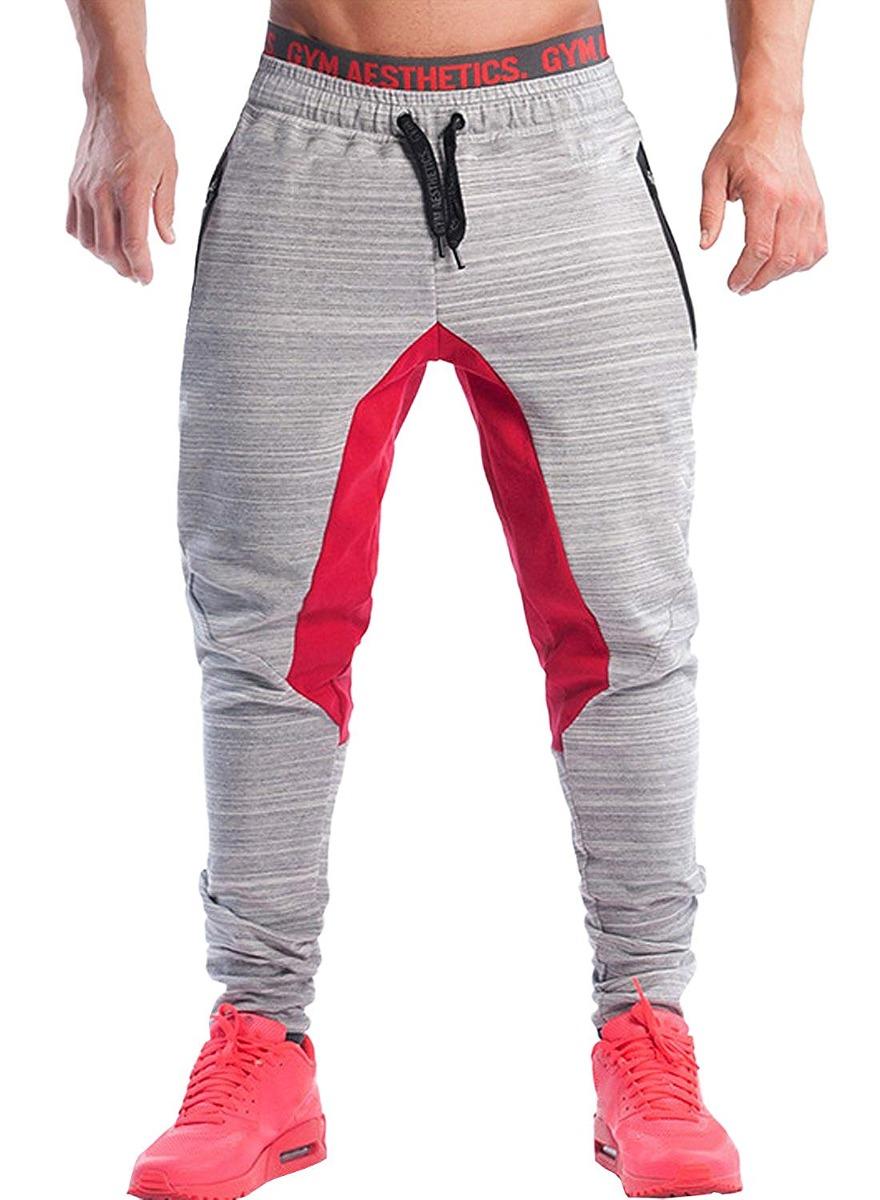 pantalones de chándal ajustados de ouber para hombre pant... ... ca2be1e216c9