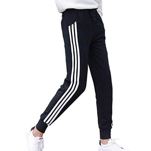 25 Bolsillos De Pantalones 990 Mujer Slim En Jogging Chándal Con 0qfYqpx e6543db47933