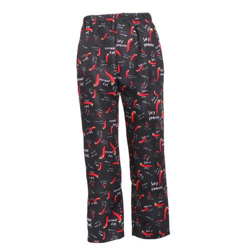 pantalones de cocinero ropa de trabajo pantalón largo de