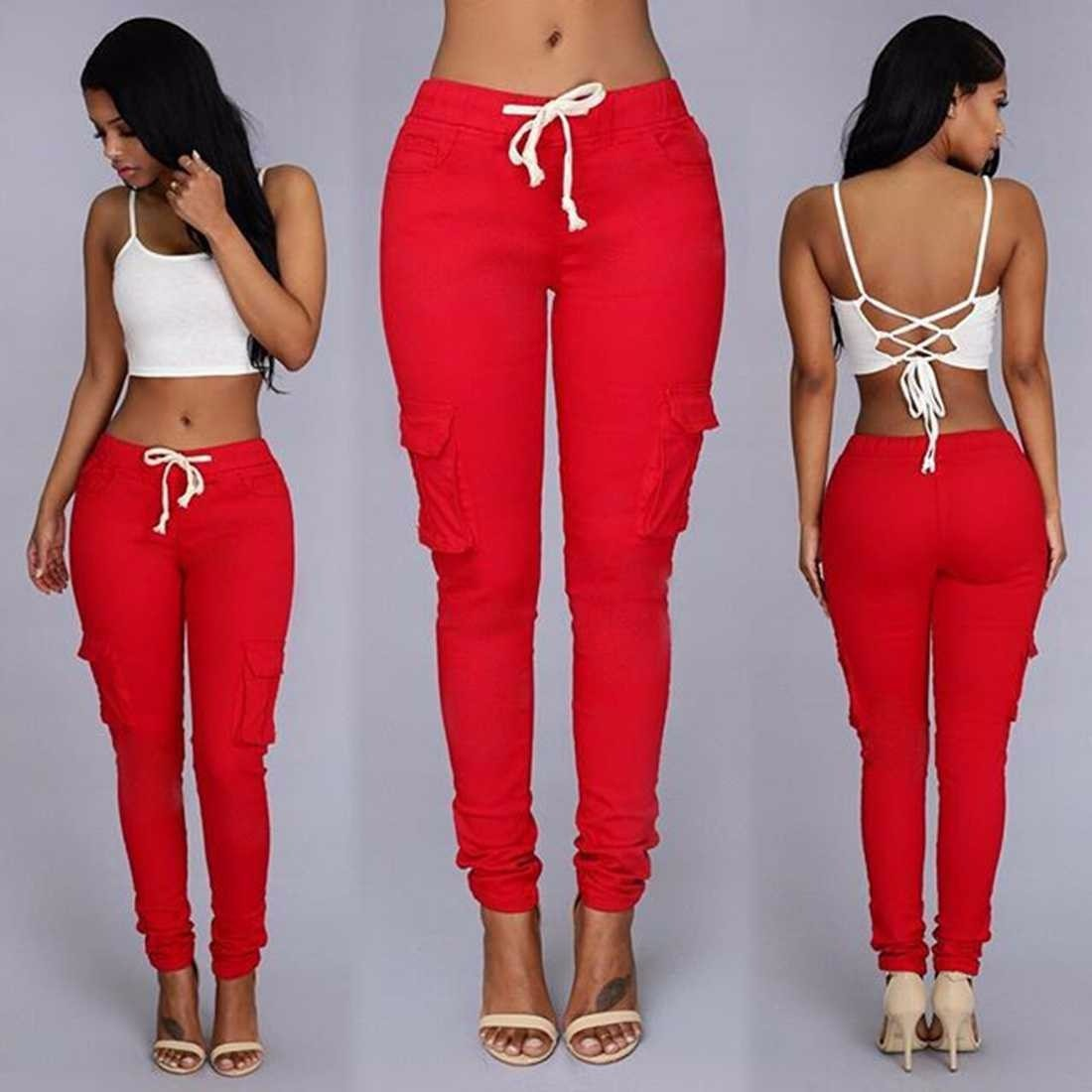 c5252423 Pantalones De Dama Joggers Tipo Cargo Levanta Cola Moda 2016