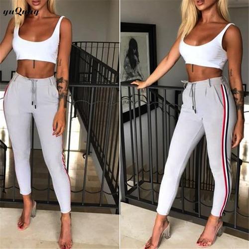 pantalones de damas casual elegante moderno outfit