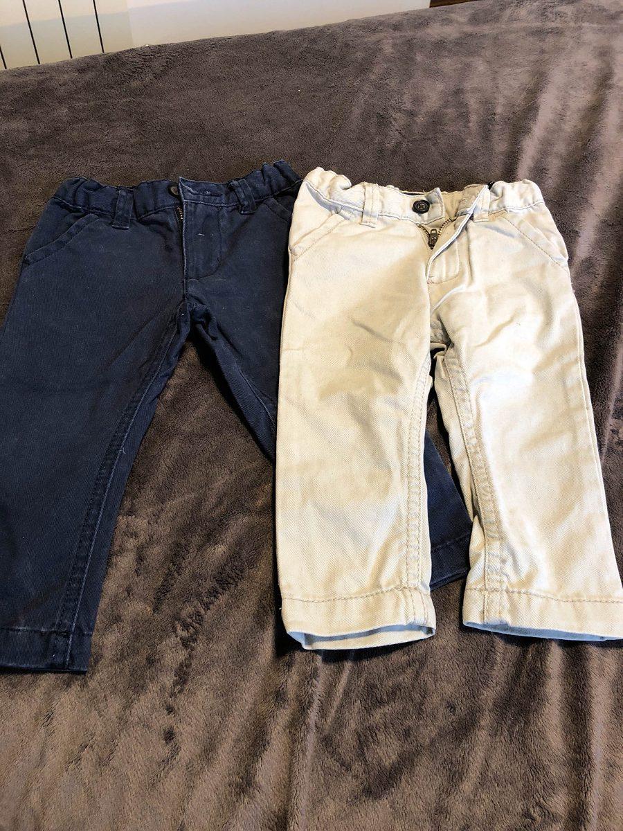 f30589464 Pantalones De Gabardina Bebe - $ 490,00 en Mercado Libre
