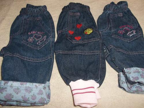 pantalones de jeans de bebe