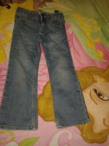 pantalones de jeans de niña, originales