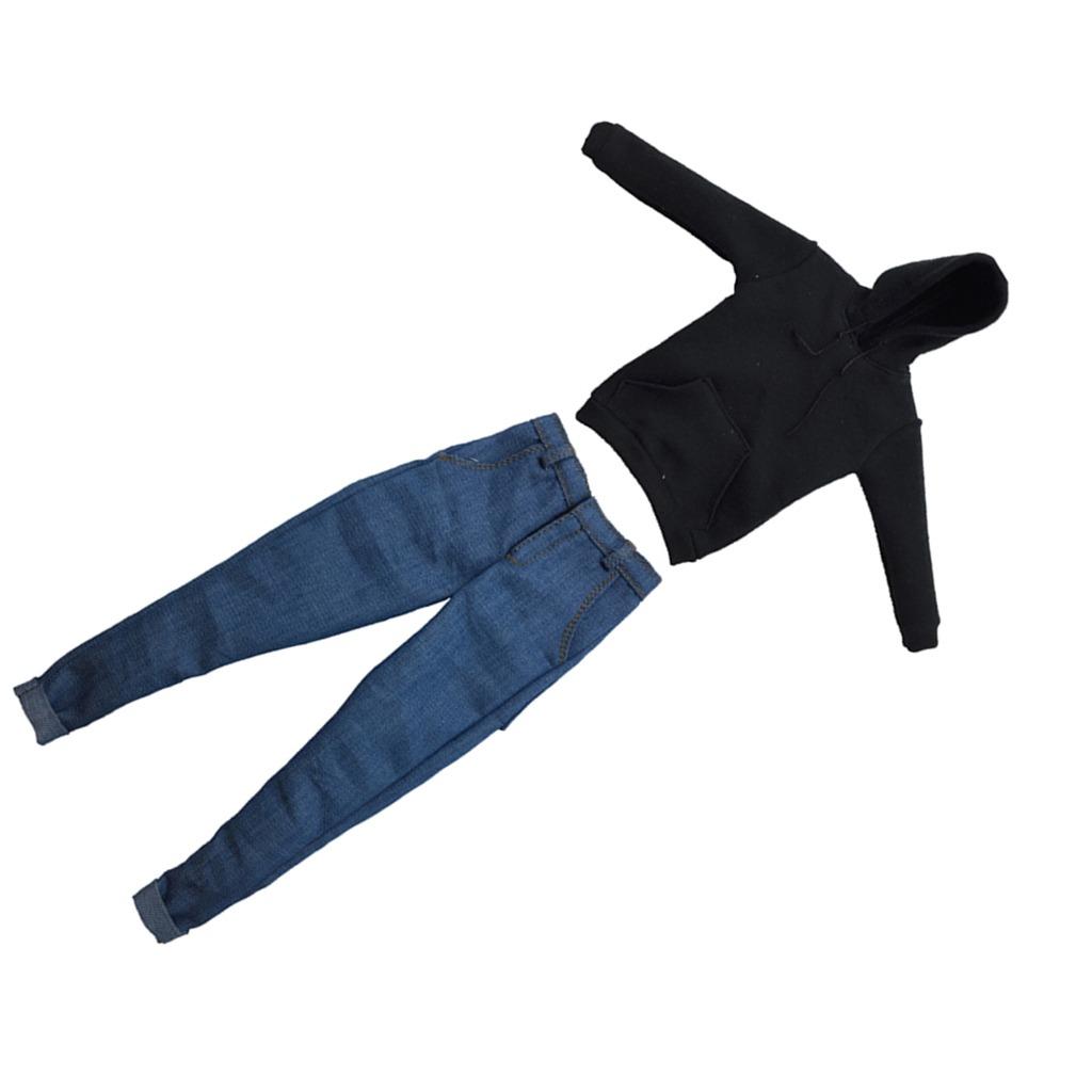 Pantalones De Jeans De Sudadera Con Capucha 1 6 Para Hombre