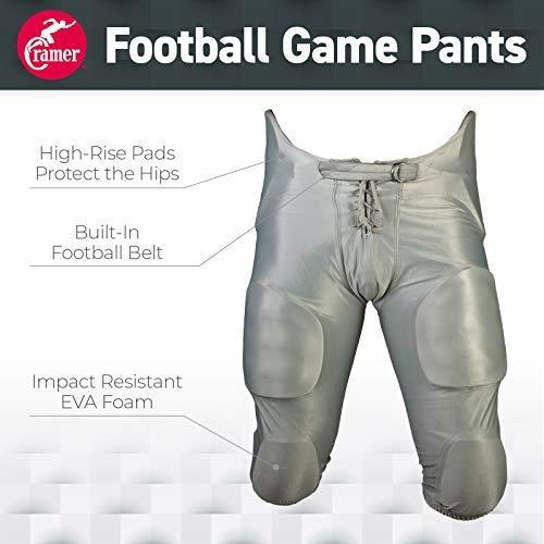 7 Pad Assorted Colors Cramer Football Game Pants Youth Size