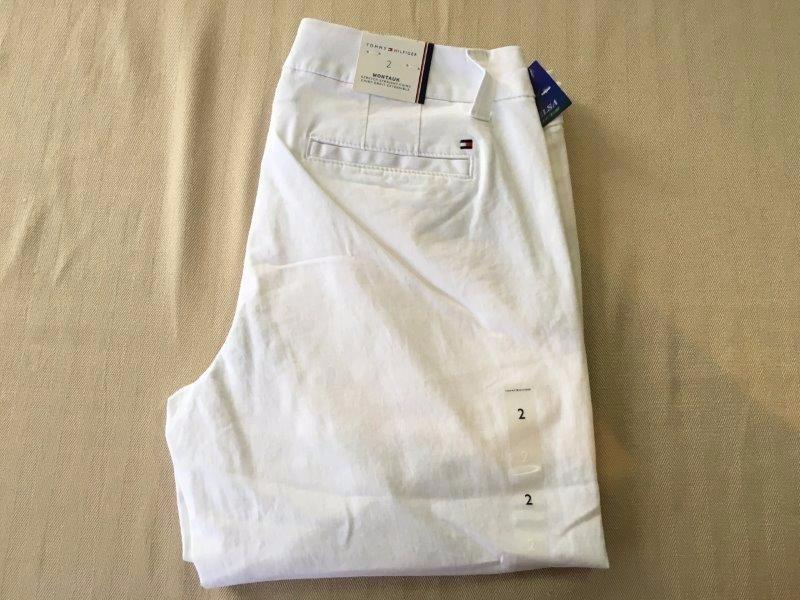 dd3fb0f2370 de zoom Cargando 100 originales hilfiger pantalones mujer 2 tommy talla  OBBda1qx