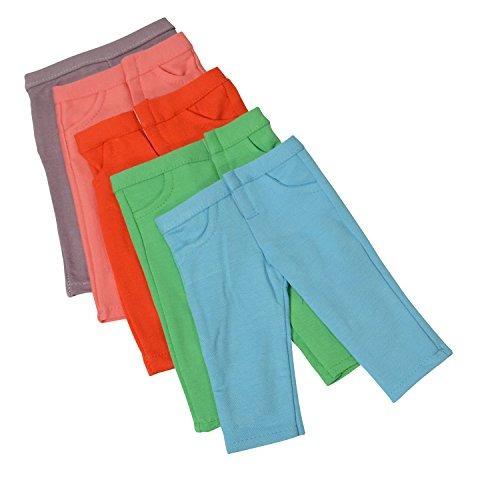 pantalones de muñeca de colores sólidos recién rediseñad