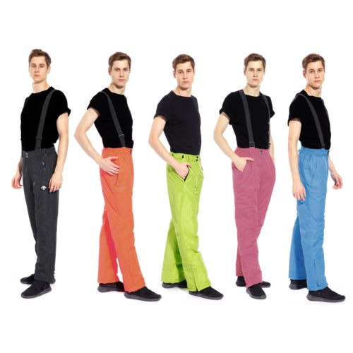 pantalones de ski para hombre color azul ártico talla l