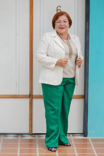 pantalones de vestir ejecutivos talla 8 a 24