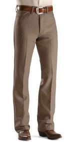 estilos frescos venta de tienda outlet precio razonable Pantalones De Vestir Para Hombre Con Ajuste Regular Tubo Recto Tela Anti  Manchas Originales De Wrangler®