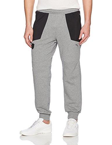 pantalones deportivos puma ferrari para hombre, gris