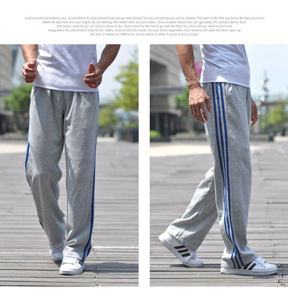 Pantalones Deportivos Sueltos Para Hombre Tallas Grandes C 730 35 En Mercado Libre