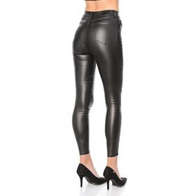 Pantalones Engomados Rojo Blanco Negro Rosa 34 Al 48