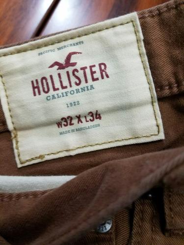 pantalónes hollíster originales nuevos para hombre