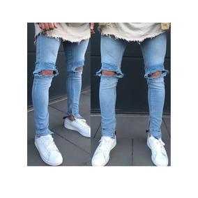 6afb74c2cf004 Jeans Caballero Skinny Moda 2018 Tipo Tubo Talla 28
