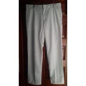 03f33a8ee Pantalón De Vestir Blanco Para Hombre Nuevo