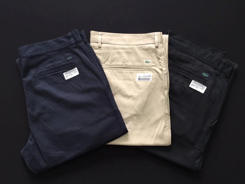 pantalones hombre lacoste,la martina,polo,levis 100%original