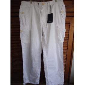 dd1bda1198676 Ralph Lauren Polo Pantalón Talla 42 Cargo Algodón 100%