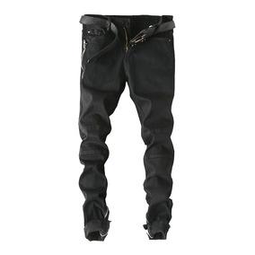 7bed17da91132 De Los Hombres Pantalones Rotos Con La Parte Inferior De Las