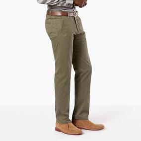 a60a3d8e26 Pantalon Verde Dockers Alpha Khaki Talla 28x32 Slim Fit