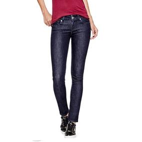 4b1c4e380f Jeans Originales Mujer Guess Logo Clasico De Triangulo Sarah