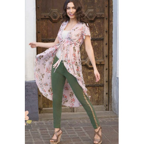 7b91a46163 Pantalon Jeans Dama Mujer Moda Franja Costado Skinny Azul. Estado De México  · Pantalón Mujer Verde Militar Con Franja