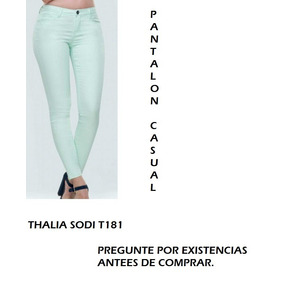 227cbbeb75 Pantalon Casual Thalia Sodi