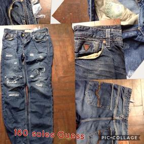 781257b712a9a Jeans Guess Hombre Talla 30 - Ropa y Accesorios en Mercado Libre Perú