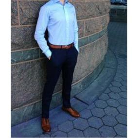 463babbbaf3487 Pantalones De Vestir Slim Fit Hombre - Ropa, Bolsas y Calzado en ...