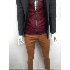24c1349948 Pantalon Mostaza Hombre - Ropa