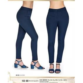 6faf212861 Pantalón Vestir Dama Azul Marino Cklass 153-60 Otoño18 Nmr