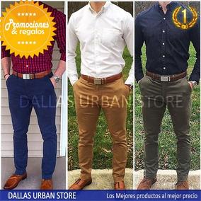 0fe3b3d3b57a4 Pantalones Hombre Drill Pitillo en Mercado Libre Perú