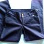 Precioso Pantalón Jeans Aschanti Negros Talla 44