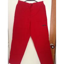 Pantalon Chevignon Rojo