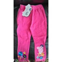Pantalon De Buzo Peppa Pig Tallas 2/3/4/6 Bordados $6000