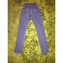 Pantalones Jeans Tipo Leggins Pitillos Tiro Alto Cintura