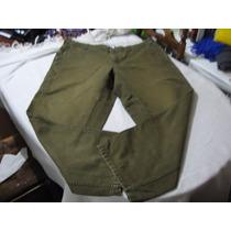 Pantalon Columbia Talla W40 L30 Color Verde