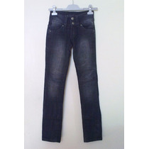 Jeans Mujer Wados Gris Oscuro Talla 34 (xs)