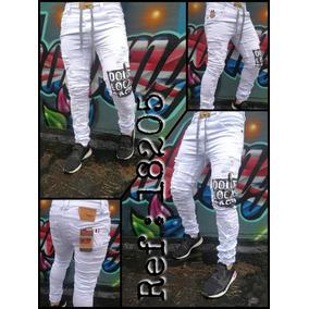 899481a1bc31a Jeans Jogger Hombre Blanco - Ropa y Accesorios en Mercado Libre Colombia