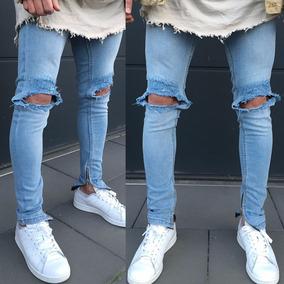 419c05a05 Jeans Rotos Hombres Chupin en Mercado Libre Colombia