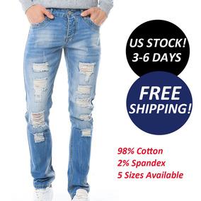 e27bb61079 Ropa Jeans Rotos Hombres en Mercado Libre Colombia