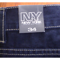 Nuevos Jeans New York Denim Original Talla 34 Oferta Dkz
