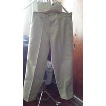 Pantalon De Dril Beig, De Hombre Y Dama
