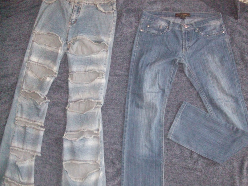 pantalones jeans varios dama desde 5 verds
