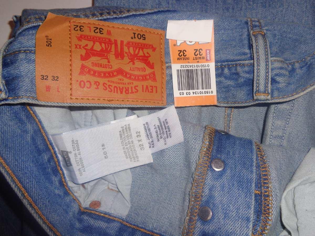 Pantalones Levis 501 Originales Para Caballeros - Bs. 499 ...